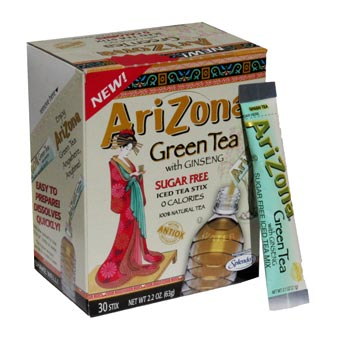 Arizona Green tea Ginseng